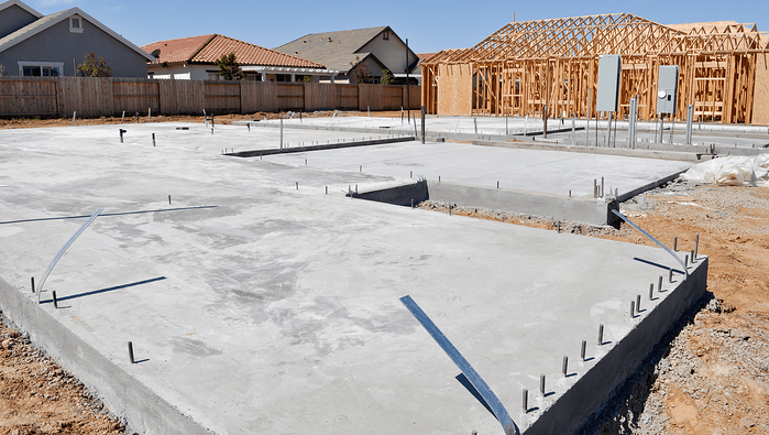 The Details on Building a New Investment Property Home Foundation Image
